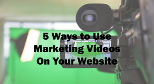 tips on how to use marketing videos in your website