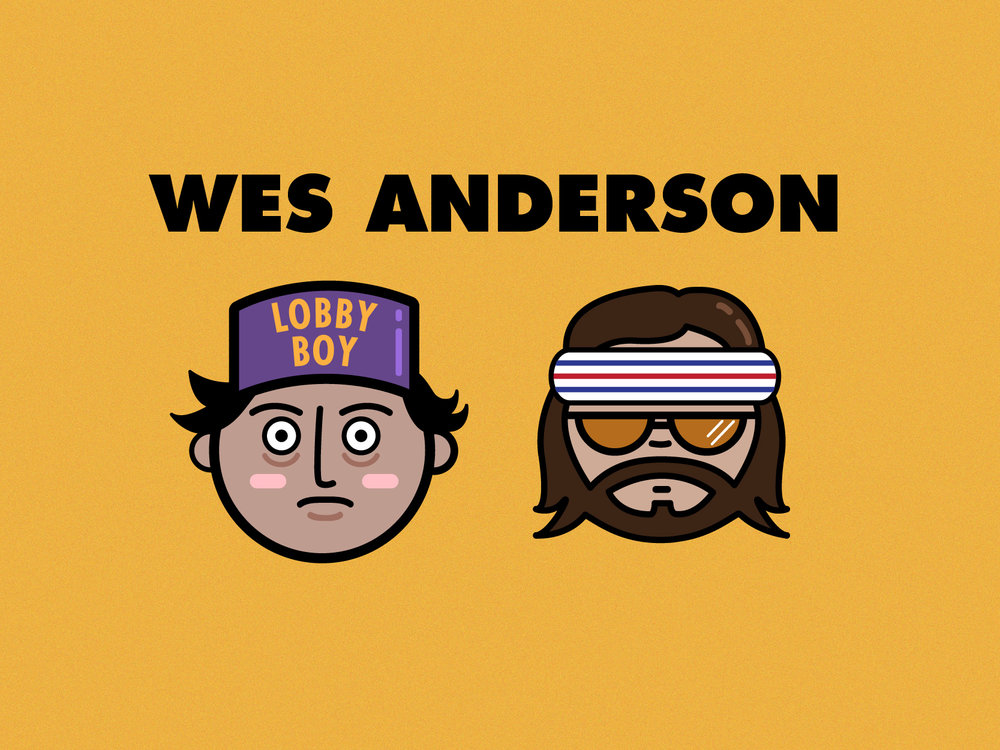 Wes Anderson  Movie Characters