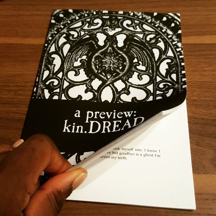 kin.DREAD is the exploration of the relationship between the seemingly unrelated, but deeply connected concepts of kinship and dread. It is an announcement that the author, though fearless he may appear to the rest of the world, is very much like you, and is not without fears. See more on the ABOUT PAGE.