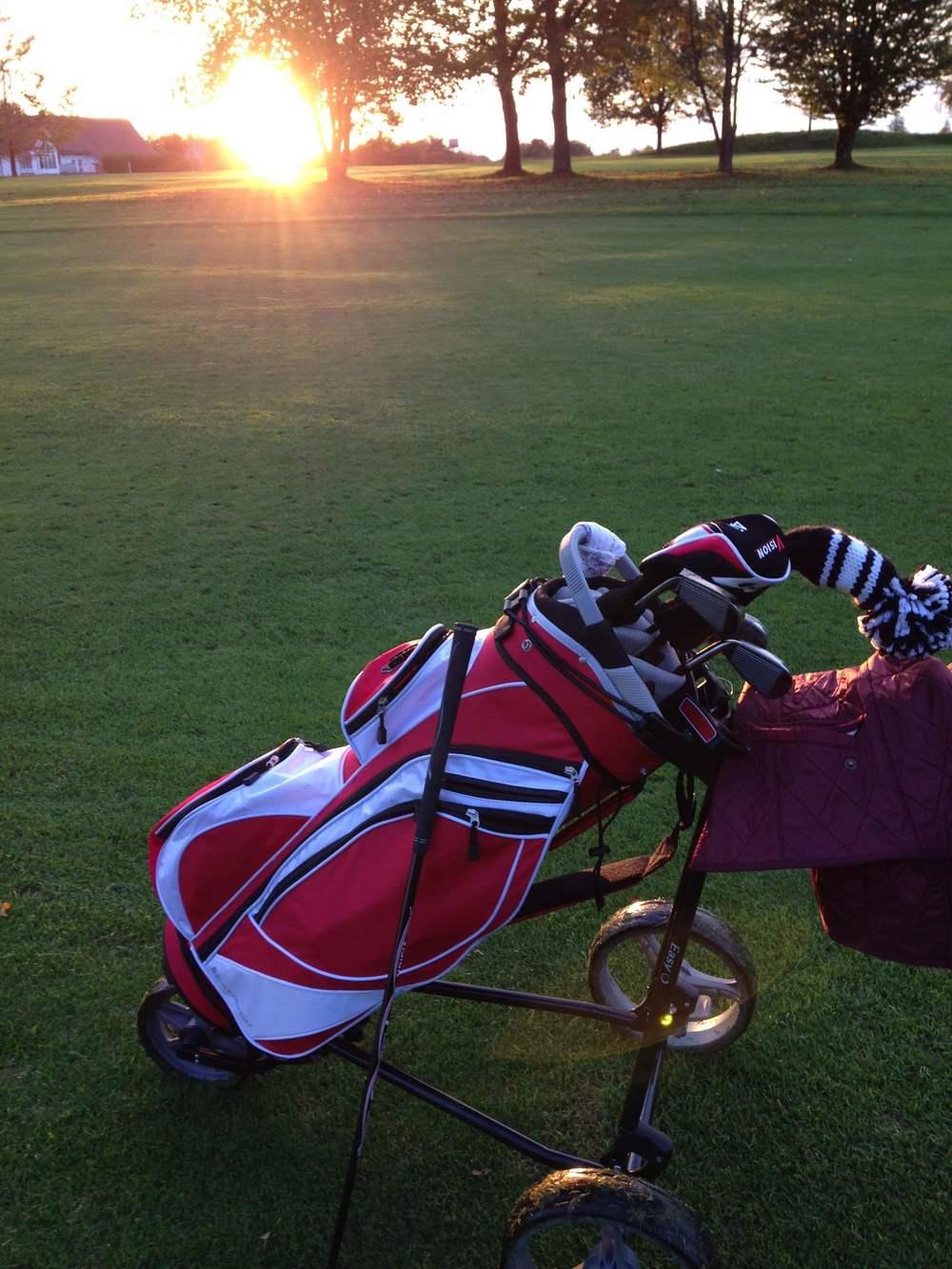 Golf- und Sportplätze