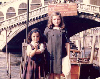 Two Sister in Bella Fortuna in the 1960s