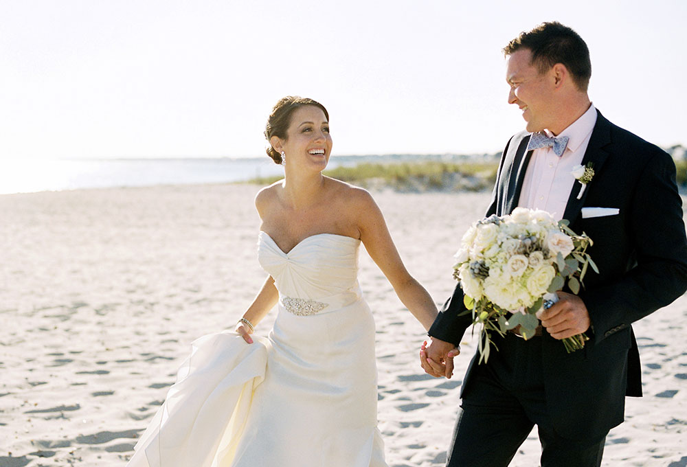 cape wedding on the beach