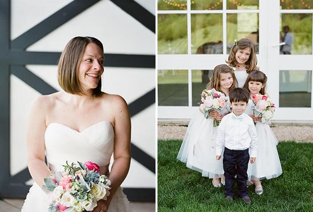 elegant film wedding photography at castle hill cider