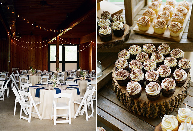 Cakes by Rachel custom cupcakes for wedding reception