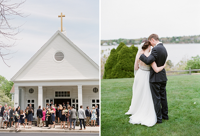 osterville church wedding ceremony site - Sarah Der Photography