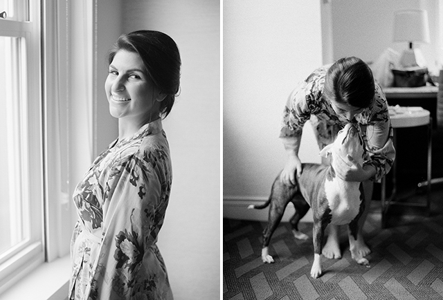 including your dog in your wedding day - Sarah Der Photography