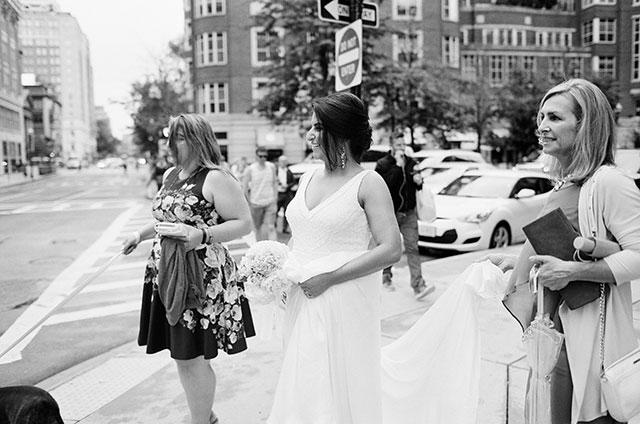 boston city elopement downtown - Sarah Der Photography