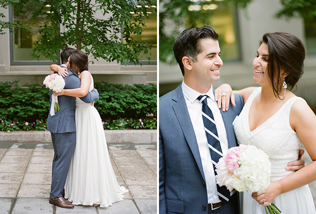 simple and elegant wedding attire for elopement - Sarah Der Photography