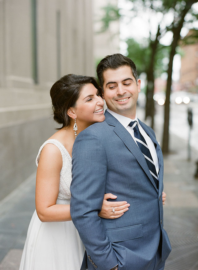 downtown wedding portraits in Boston, MA - Sarah Der Photography