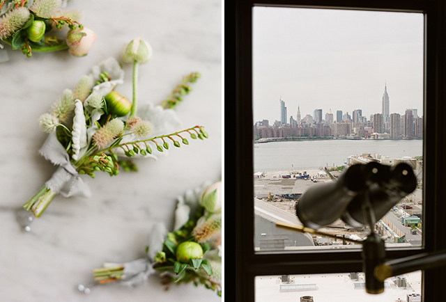 Skyline view at Wythe Hotel in Williamsburg - Sarah Der Photography
