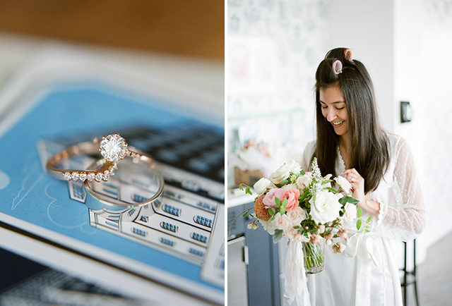 Brooklyn wedding modern and clean details