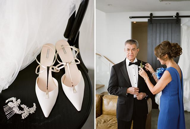 Rose Clara Wedding Gown - Sarah Der Photography