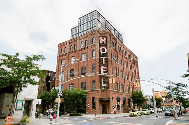 The Wythe Hotel in Williamsburg Brooklyn, NYC
