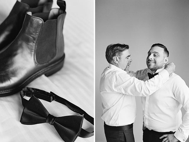 Custom tuxedo by Alton Lane - Sarah Der Photography