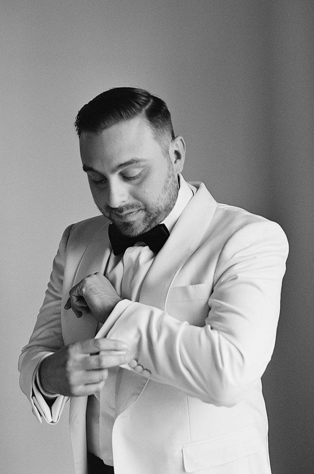 Dapper groom details and prep - Sarah Der Photography