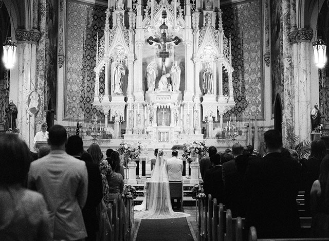 Brooklyn church wedding venue - Sarah Der Photography
