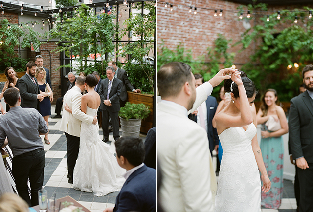 Elegant First Dance images on film - Sarah Der Photography