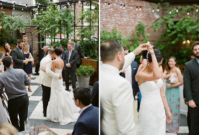 Elegant First Dance images on film - Sarah Der Photography