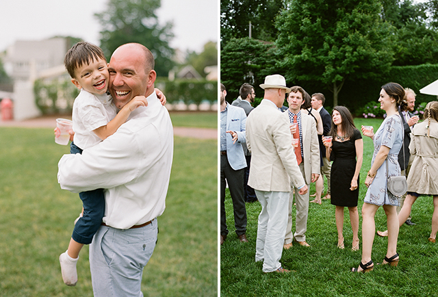 candid photos of guests at wedding - Sarah Der Photography
