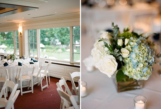 hydrangea wedding details - Sarah Der Photography