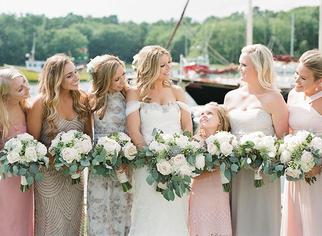 Ollo Portland Maine wedding hair and makeup - Sarah Der Photography