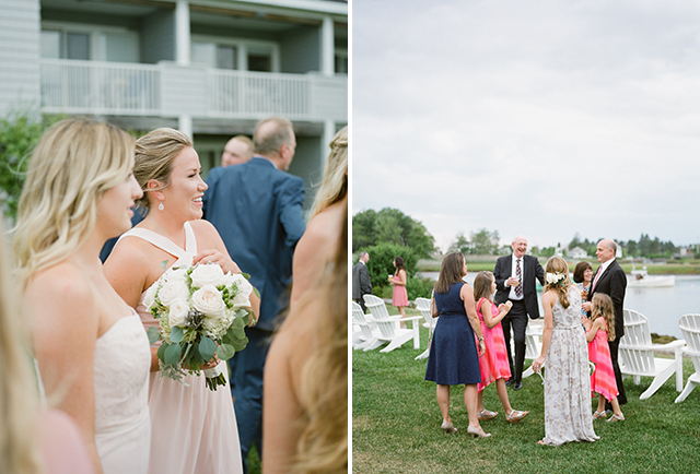 blush bridesmaids dresses - Sarah Der Photography
