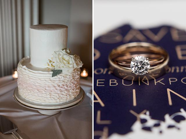 Let them eat cake Wedding cake - Sarah Der Photography