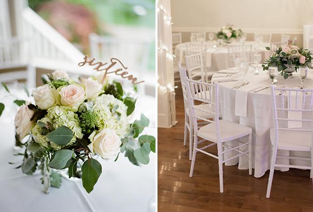 elegant indoor reception venue - Sarah Der Photography