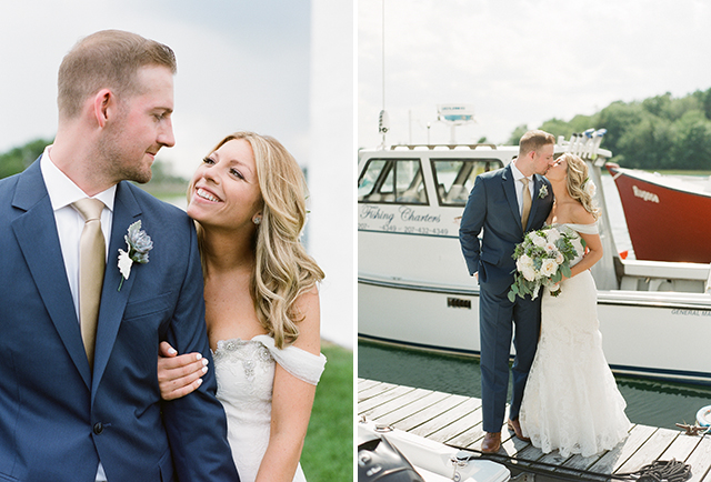 nautical wedding portraits - Sarah Der Photography