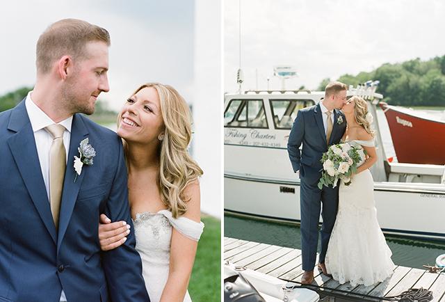 nautical wedding portraits - Sarah Der Photography