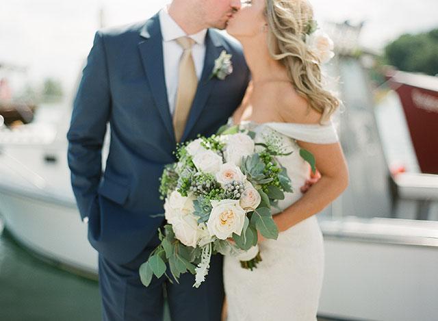 classic wedding portraits - Sarah Der Photography