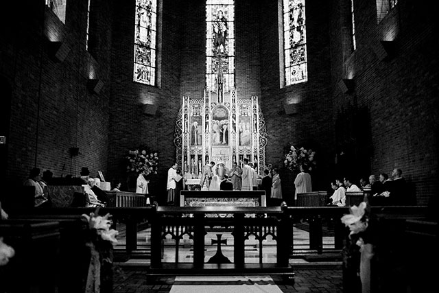 manhattan church wedding venue - Sarah Der Photography