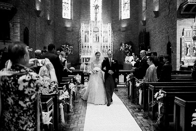 church ceremony in manhattan - Sarah Der Photography