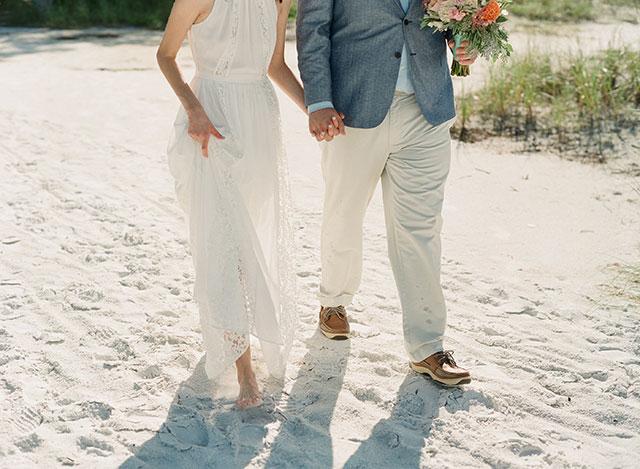 35mm film wedding portraits - Sarah Der Photography