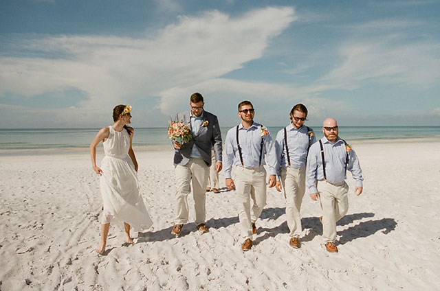 relaxed groomsmen attire - Sarah Der Photography
