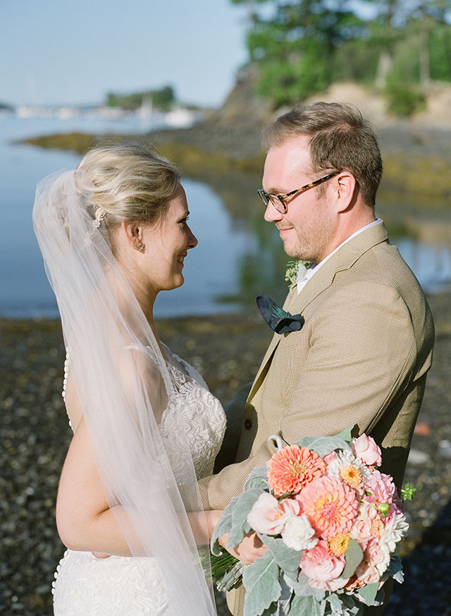 elegant wedding in portland, maine - Sarah Der Photography