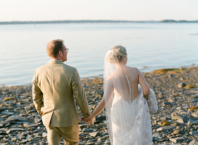 destination wedding photographer in portland, maine  - Sarah Der Photography