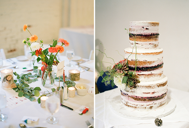foley's bakery wedding cake, portland maine - Sarah Der Photography
