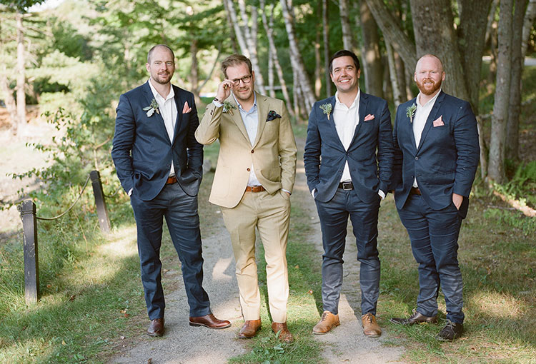 dapper groom attire - Sarah Der Photography