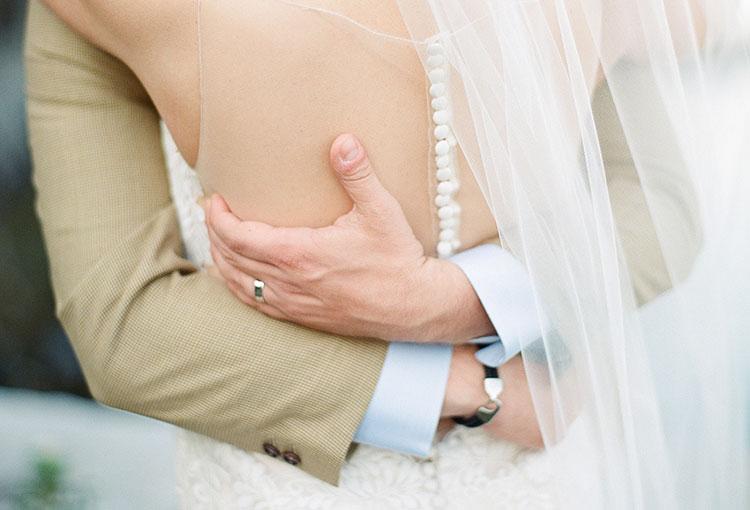 intimate wedding day portraits - Sarah Der Photography