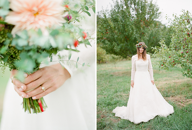 Belladonna Floral design in maine - Sarah Der Photography