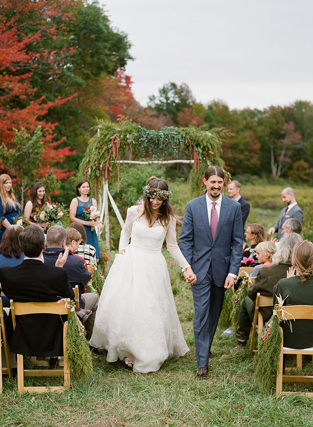 farm wedding in coastal maine - Sarah Der Photography