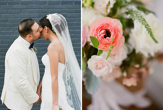 wedding day portraits in williamsburg brooklyn