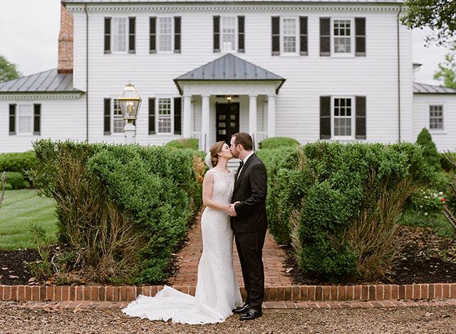 Mount Ida Farm Wedding in early spring