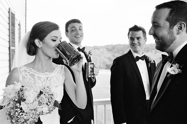 candid photos of bridal party