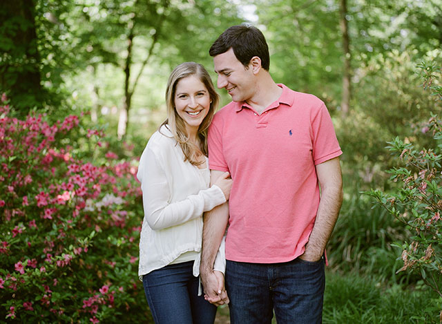 McCrillis Gardens engagement photography