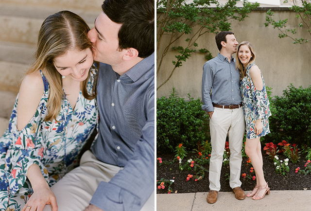 film engagement photography in Bethesda Maryland