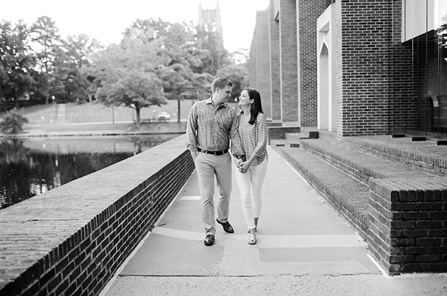 Photo in front of Tylers Commons on the campus of university of richmond
