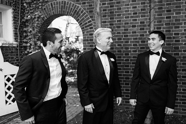 Combat Gentleman menswear for wedding day