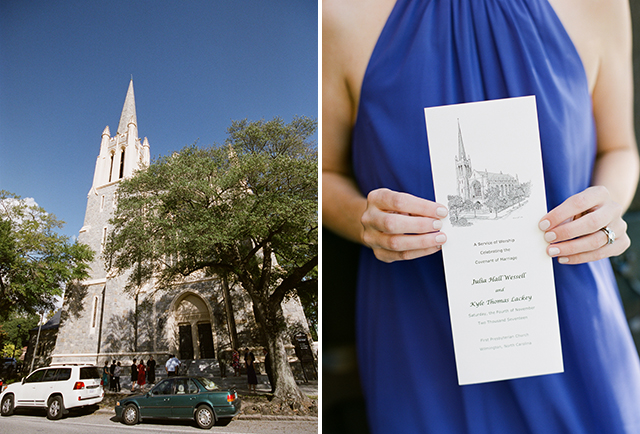 First presbyterian church in wilmington ceremony